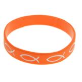 Armband silikon fisk