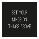 Magnet - Set your minds on things above