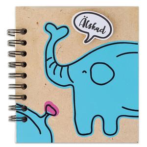 Anteckningsblock - Elefant