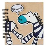 Anteckningsblock - Zebra