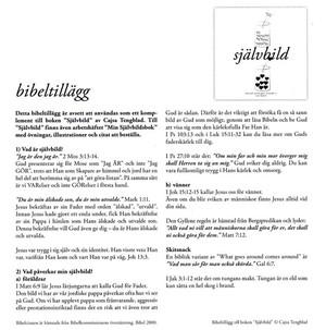 Självbild - Bibeltillägg - Cajsa Tengblad