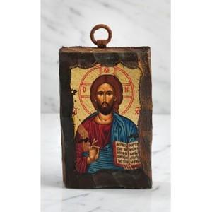 Ikon, Kristus, handgjord