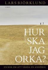 Hur ska jag orka? - Lars Björklund