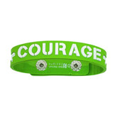Armband i gummi: Courage