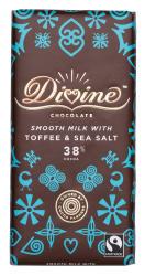 Divine, mjölkchoklad toffee/havssalt