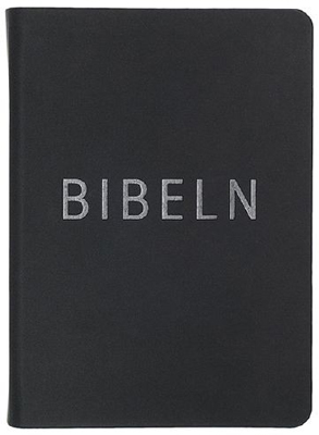 Bibeln, konfirmand, svart