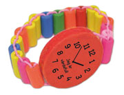 Armbandsklocka, röd